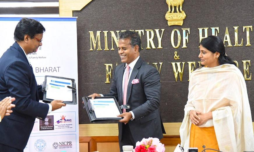 Ministry Of Health Agreement With Dell And Tata Trust For Technology